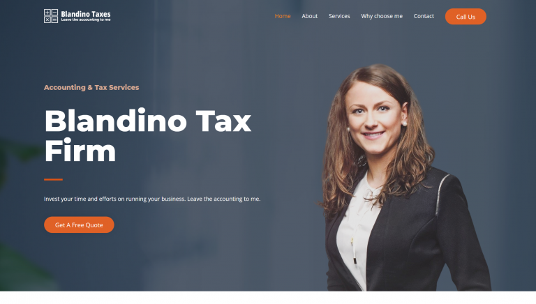 blandino tax firm apex marketing